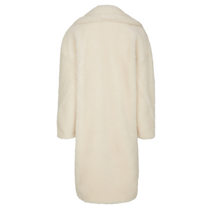Vegan Willow Coat Wool White