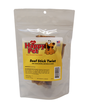 Happy Pet Beef Stick Twists