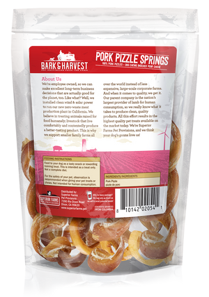 Pork Pizzle Springs, 6ct.