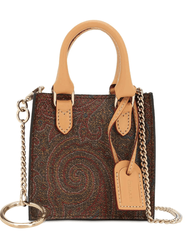 Mini paisley bag