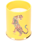 Tiger ceramic candle