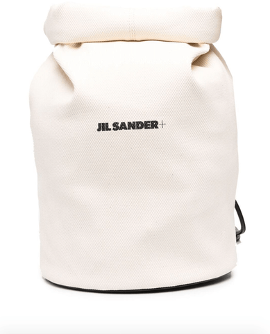 Logo-print backpack