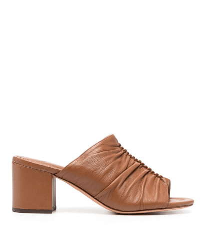 Susanna brown mules