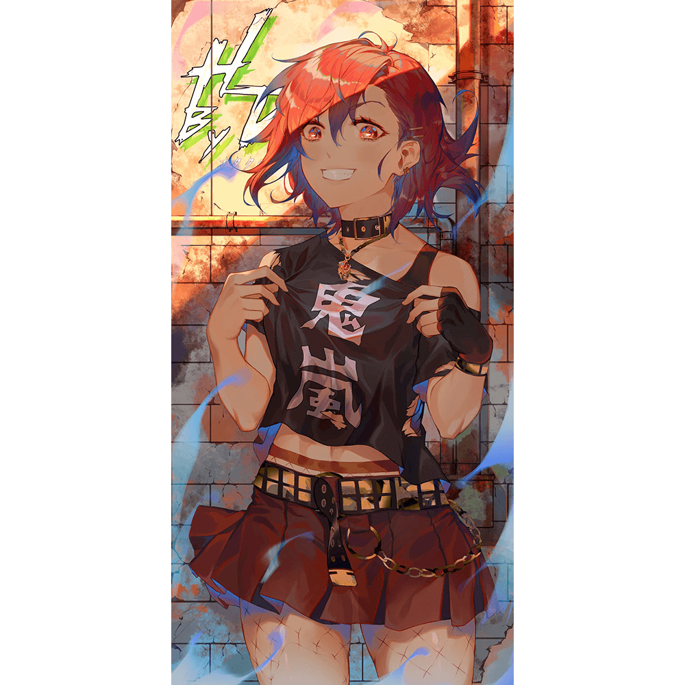 Onika-chan Wall Scroll - Heroes by Design