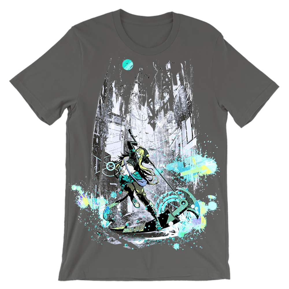 Neko Reaper T-Shirt - Heroes by Design