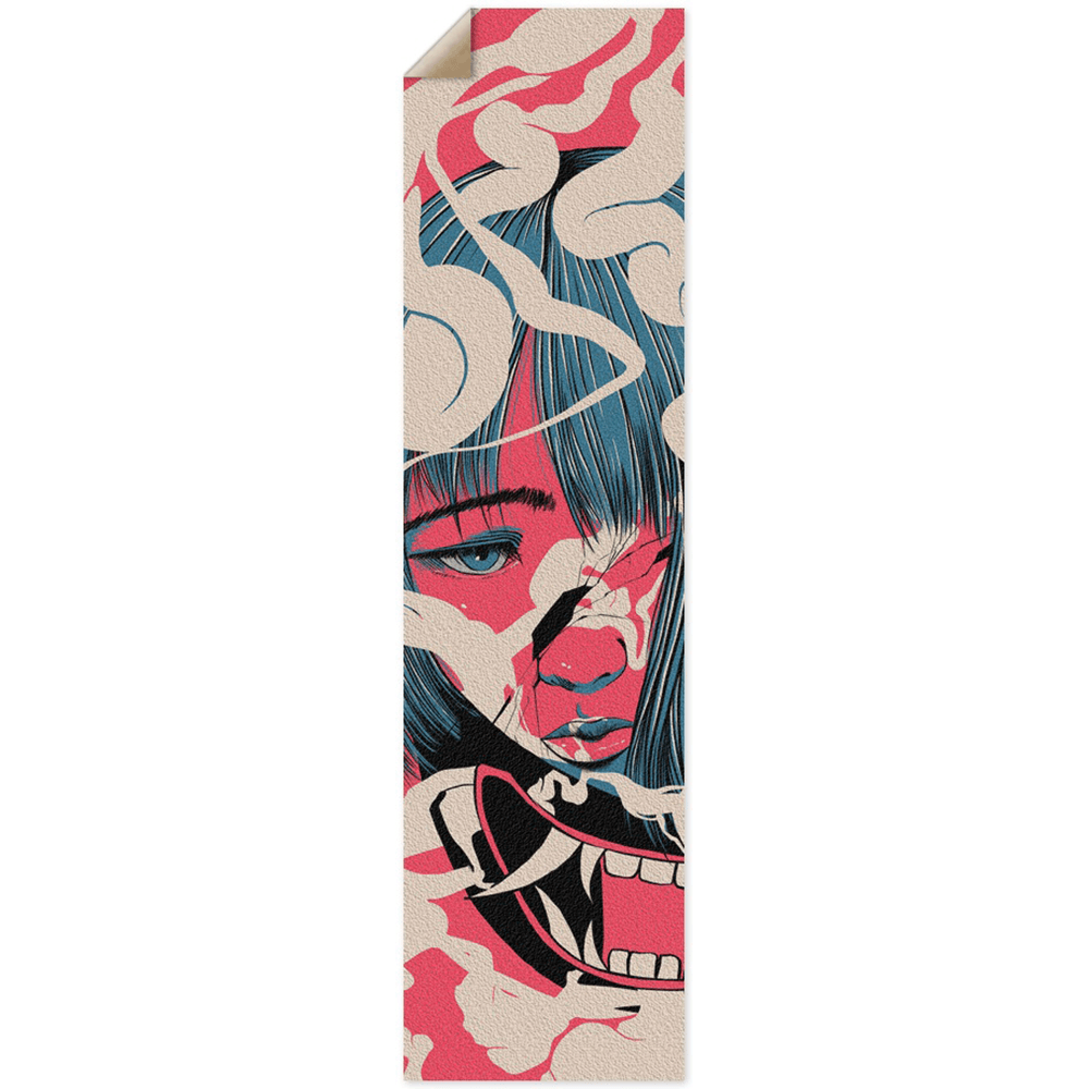 Smoke Custom Griptape - Heroes by Design