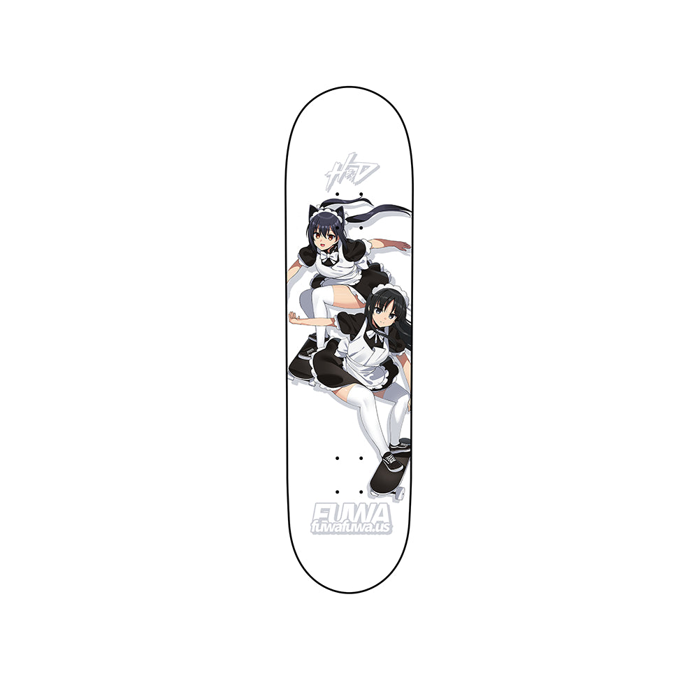 Skating Maids Skateboard Deck - Heroes by Design