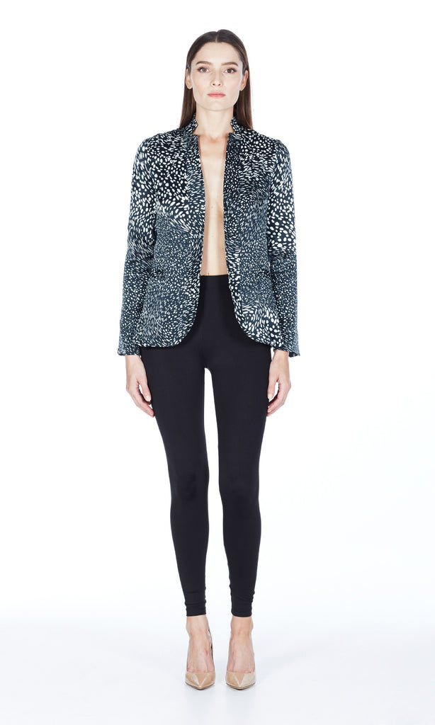 Suiting Silk Blazer in Celestial