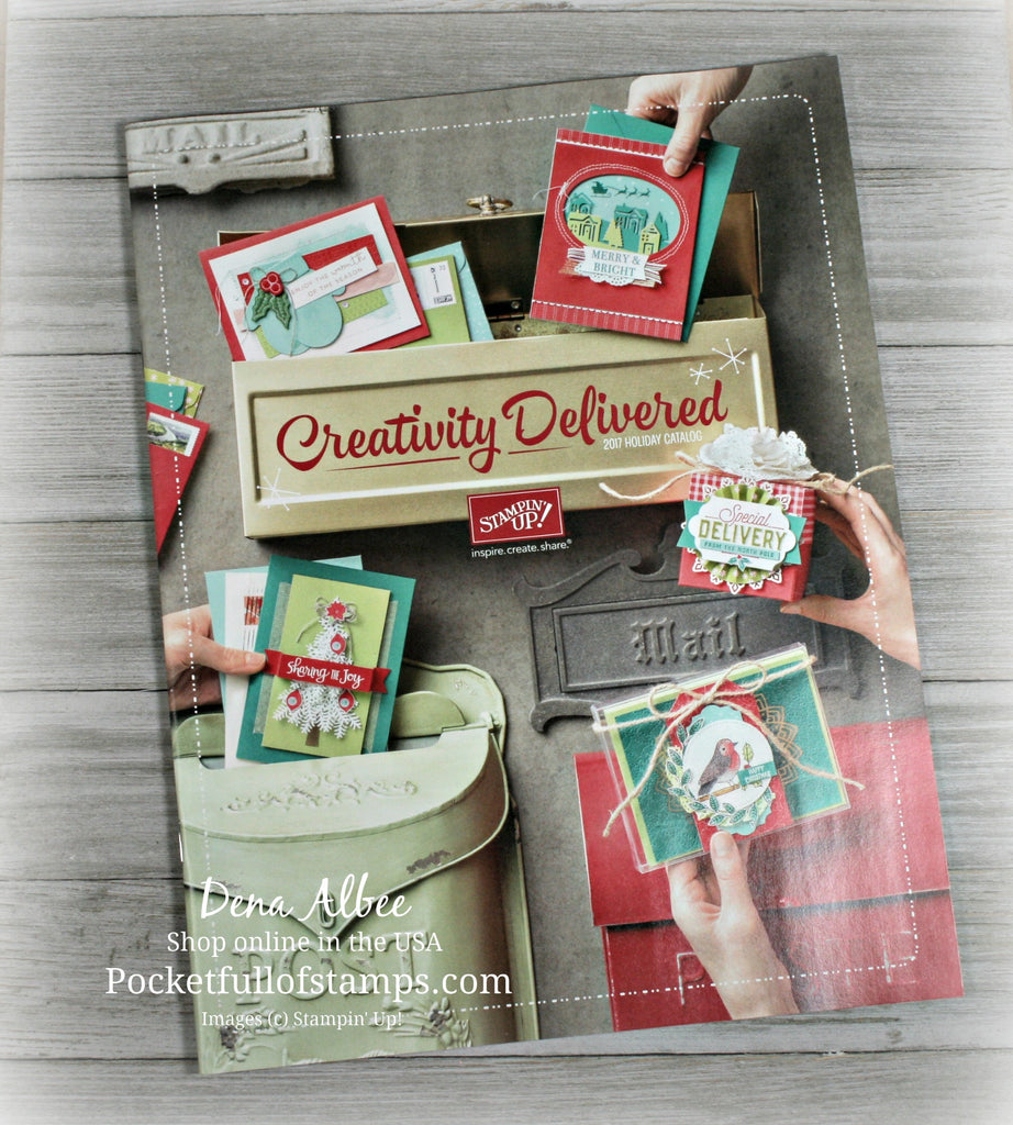 The Holiday Catalog Launch Is Almost Here...And Stampin' Class To Go!