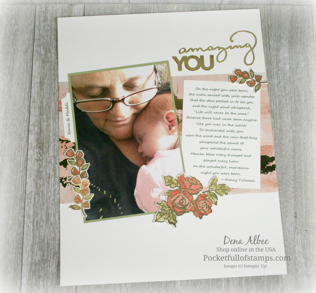 Amazing You for the Scrapbook Sunday Blog Hop