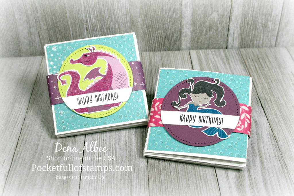 Fun Fold for the Ink & Inspiration Blog Hop