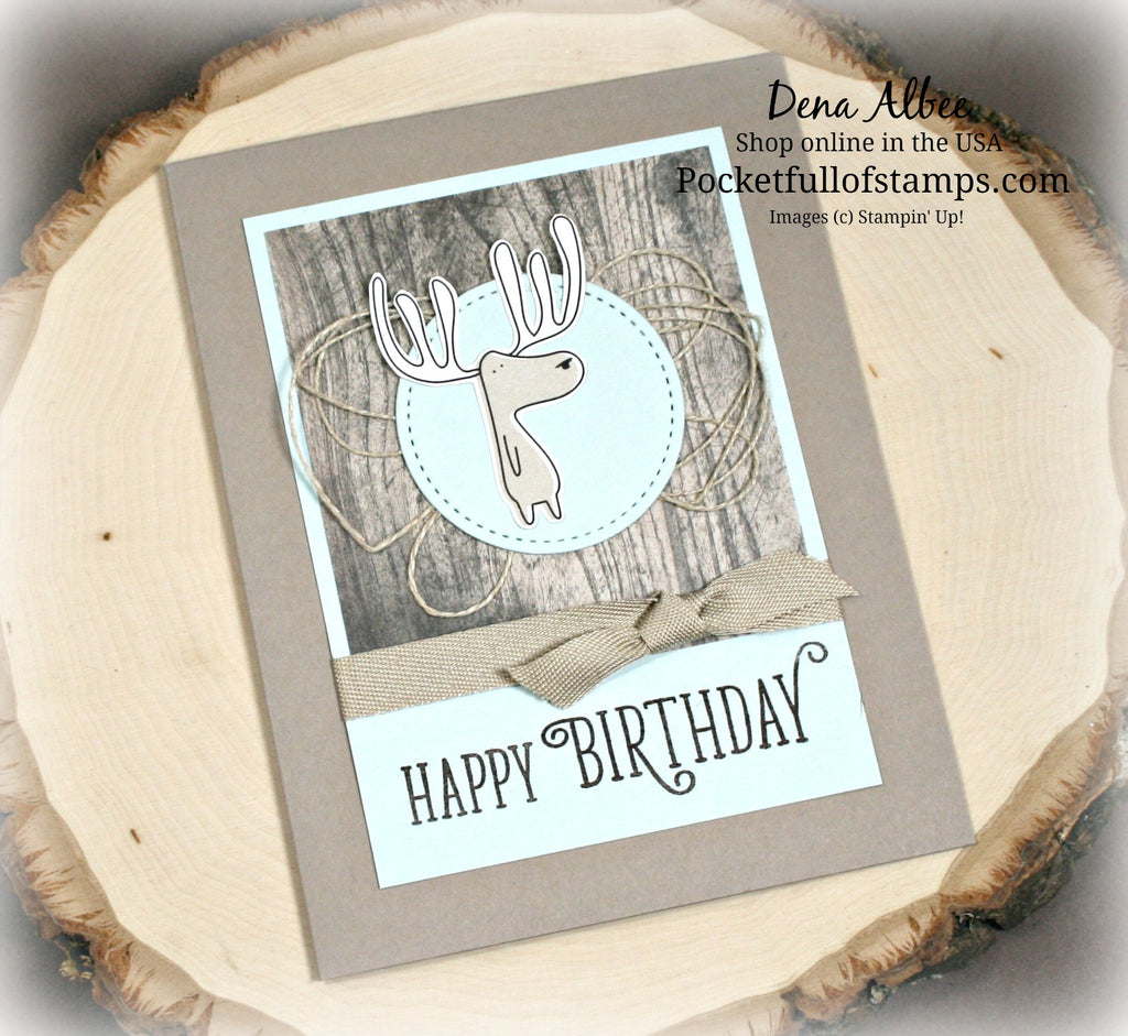 Simple Sunday - A Card for Moose