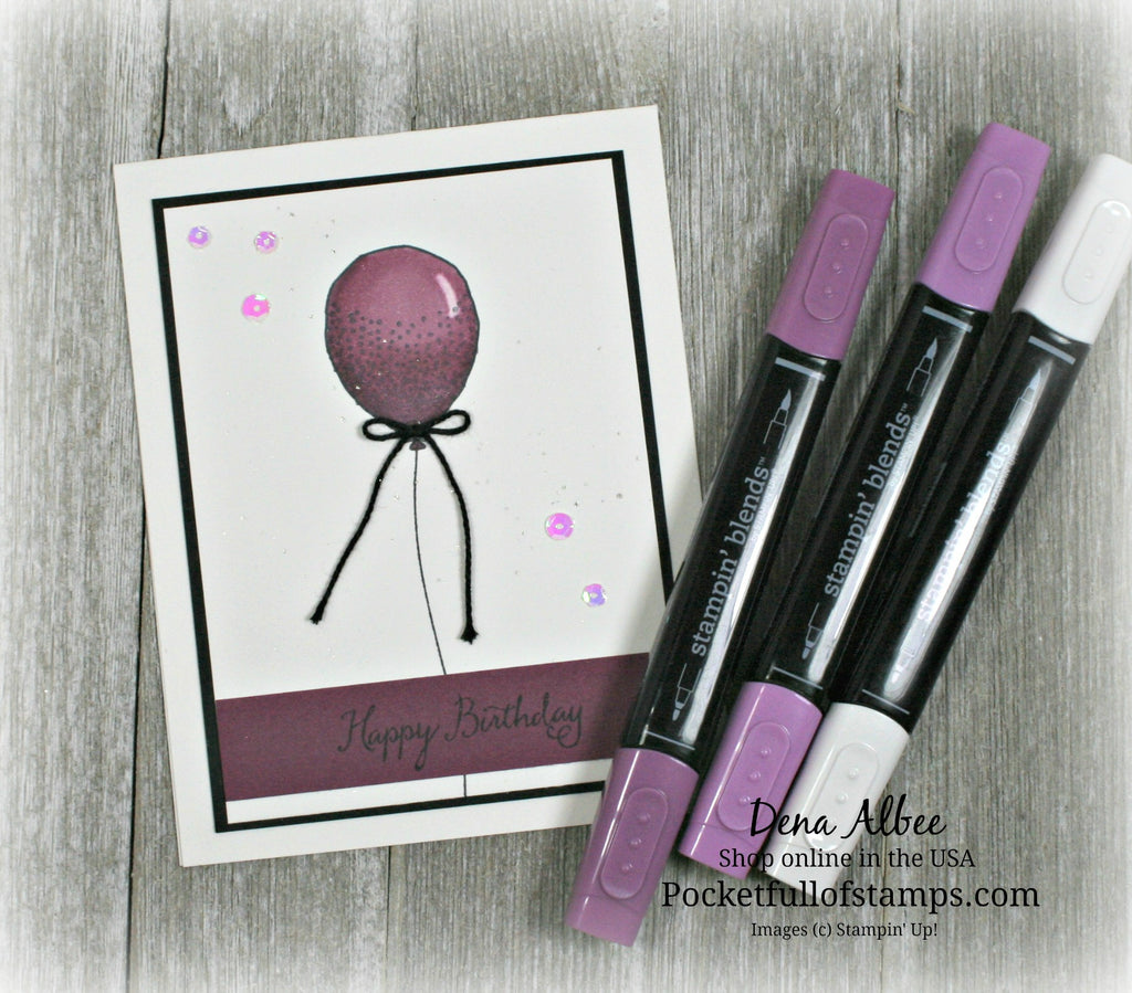Introducing Stampin' Blends!