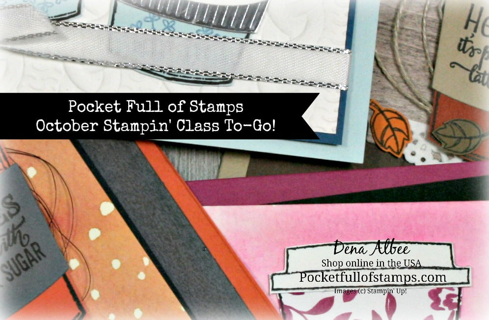 October Stampin' Class To-Go