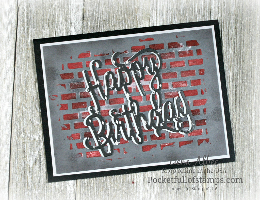 Urban Graffiti Birthday with Tutorial Video!