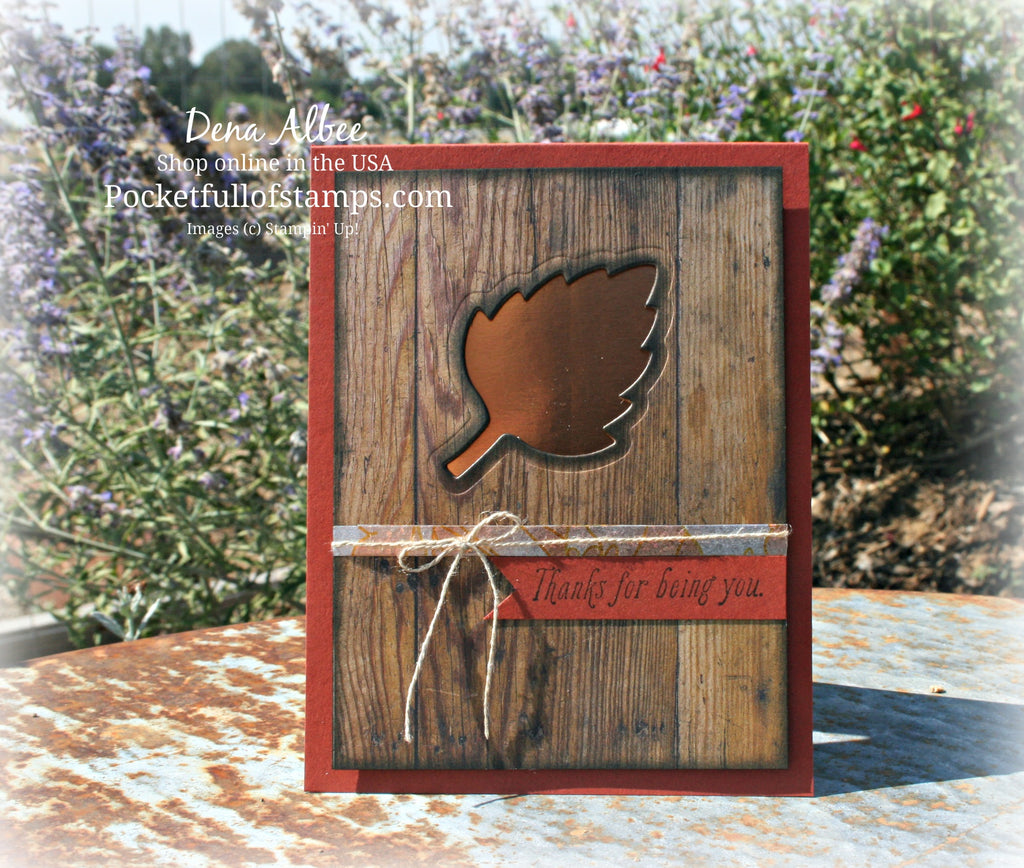 Vintage Leaves With Video Tutorial!