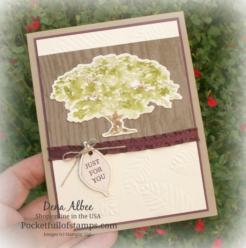 Embossing With Embossing Mats and a Card Quickie Video!