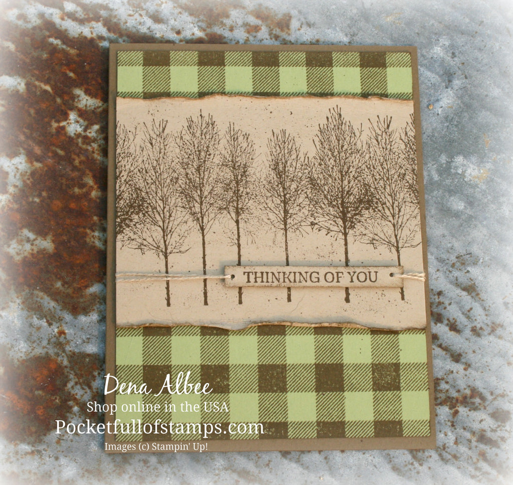 Simple Sunday - Winter Woods Sneak Peek!