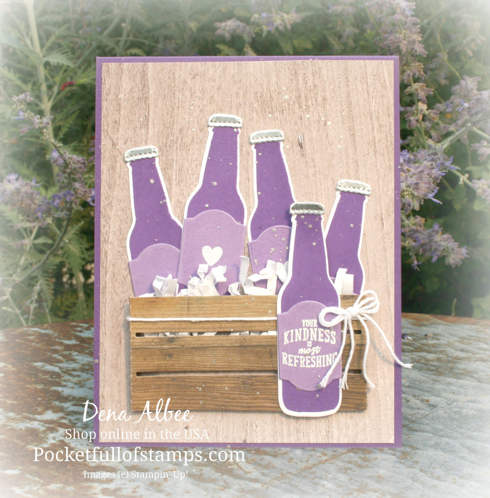 A Crate of Grape Soda