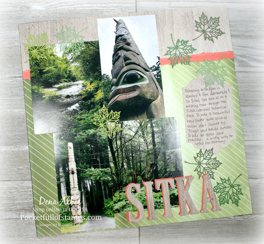 """Sitka"" for the Scrapbook Sunday Blog Hop"