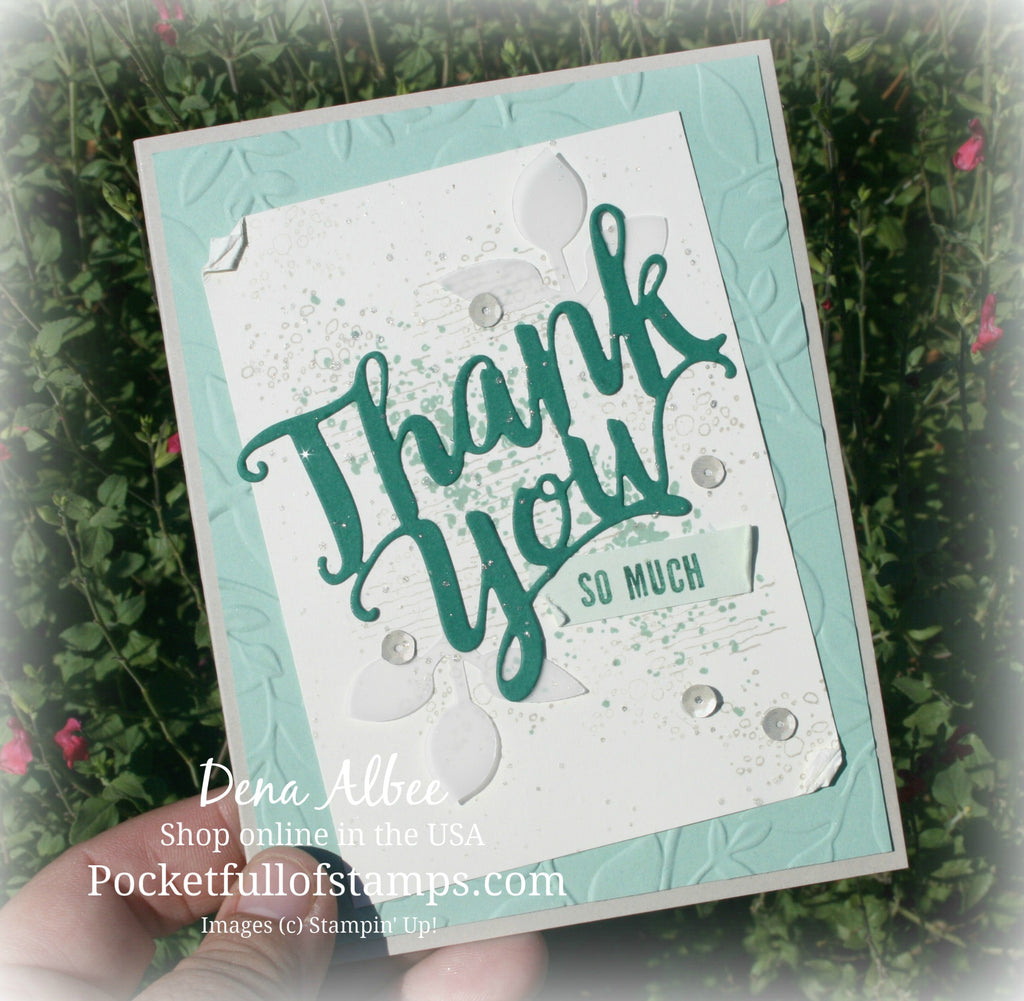 Artisan Textures With Card Quickie Video Tutorial