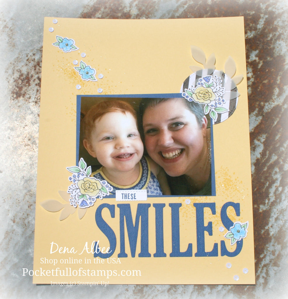 Lots of Happy Card Kit for the Ink & Inspiration Blog Hop