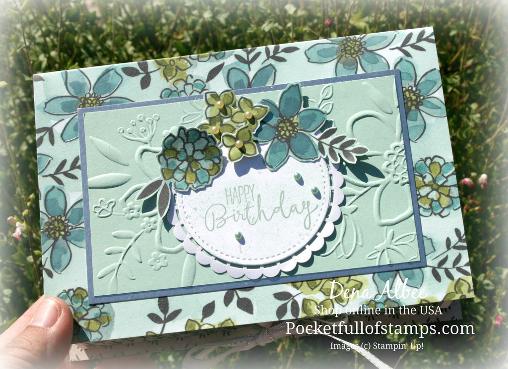 Birthday Book Box with Card Quickie Video for the Ink & Inspiration Blog Hop