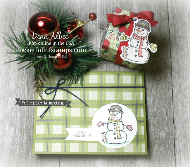 Christmas for the Ink & Inspiration Blog Hop
