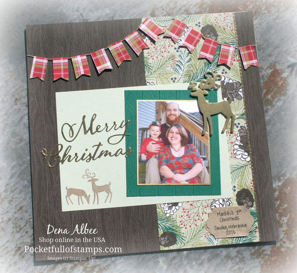 First Christmas for the Scrapbook Sunday Blog Hop