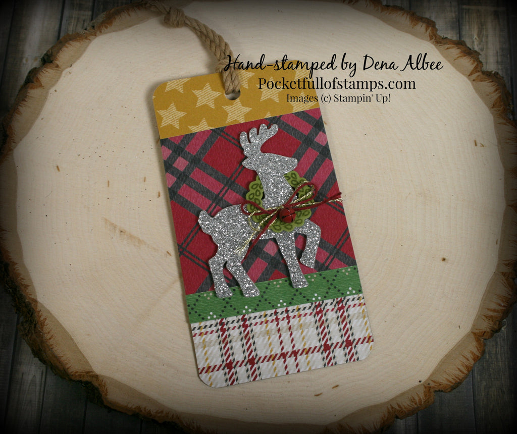 Just 5 Days 'til Christmas -- Pretty Christmas Tags