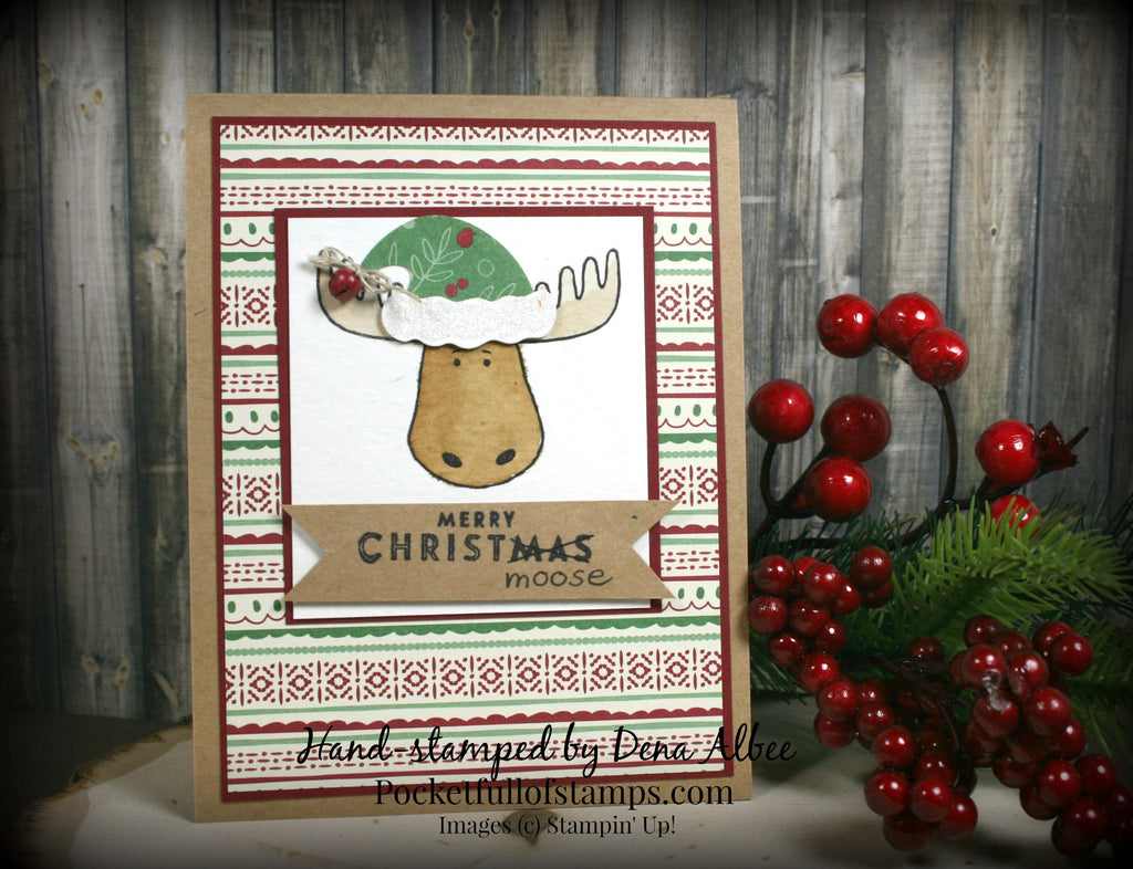 Simple Sunday - Merry Christmoose