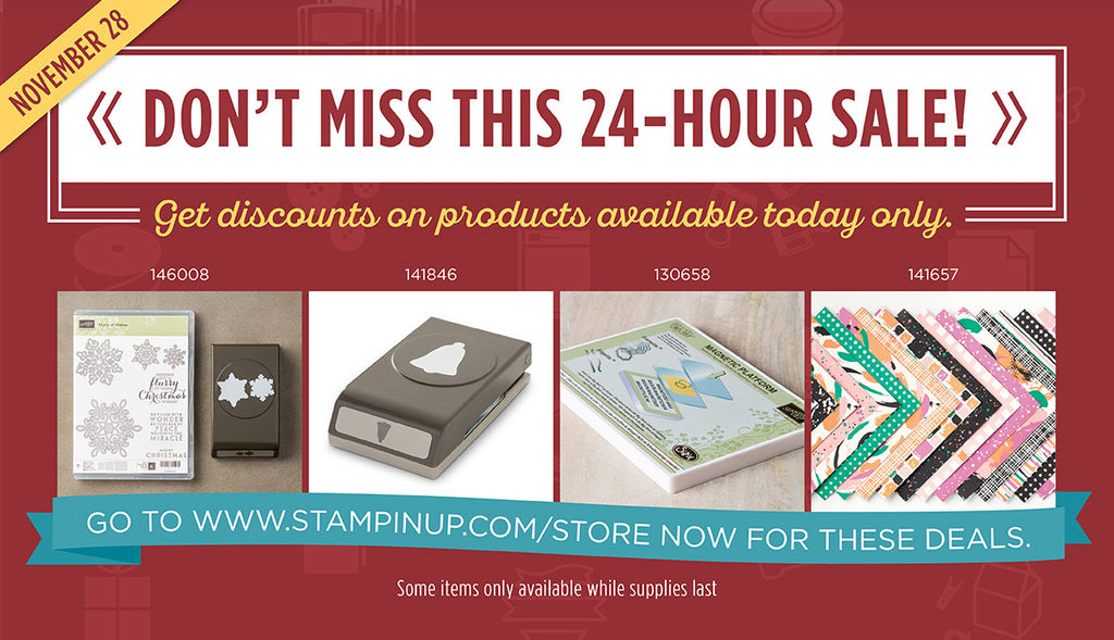 24-HOUR FLASH SALE and final day of Online Extravaganza!