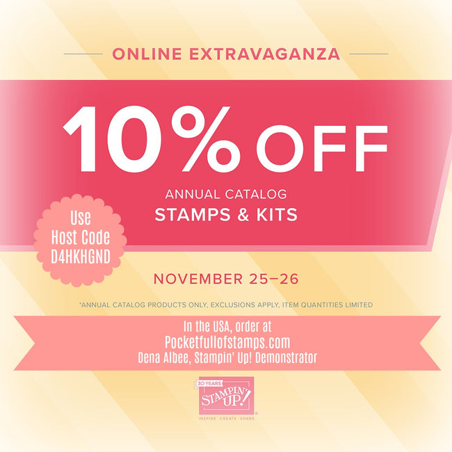 Second 48-Hour Online Extravaganza Sales Starts TODAY!