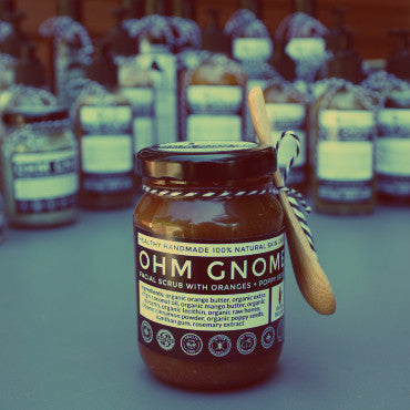 Ohm Gnome: Liquid Soap, Body Washes & Facial Scrubs