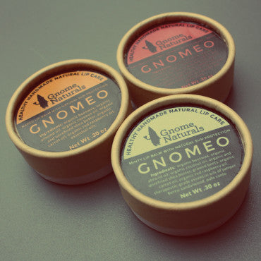 Gnomeo: Natural Lip Balms