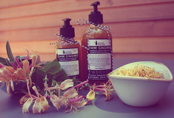 Castile Soap with Honeysuckle + Calendula