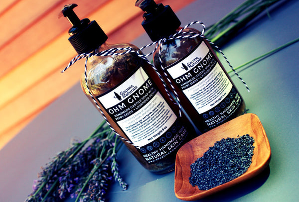 Castile Soap with Lavender + Poppy Seeds
