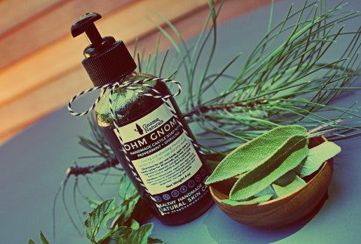 Castile Soap with Peppermint + Spirulina