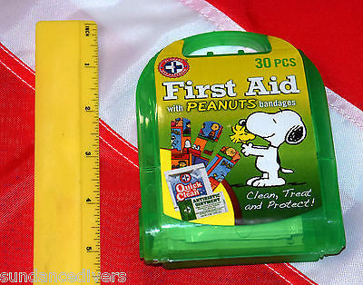 30 piece peanuts character first aid kit emergency disaster tactical prepare kid - Sundance Survival Supply