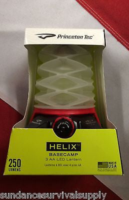 Helix Basecamp LED lantern 250lumens princeton tec emergency prepare disaster - Sundance Survival Supply - 1