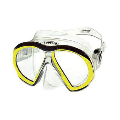 Atomic Aquatic subframe mask yel/clear scuba dive equipment snorkel diver gift - Sundance Survival Supply
