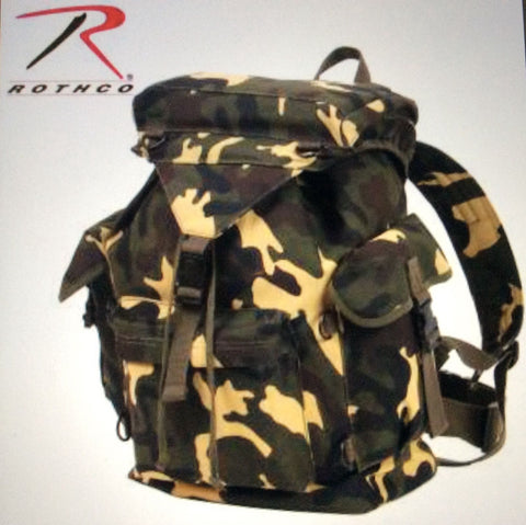 Rucksack outdoorsman canvas emergency bug out survival tactical military Rothco - Sundance Survival Supply