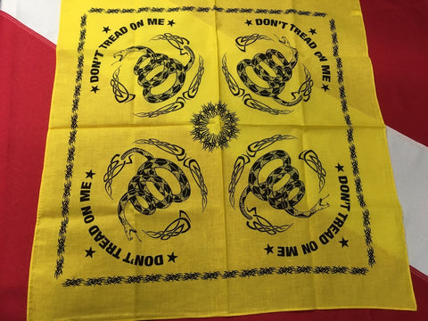 Bandana Don't Tread On ME disaster tactical earthquake tornado survival 2pack - Sundance Survival Supply