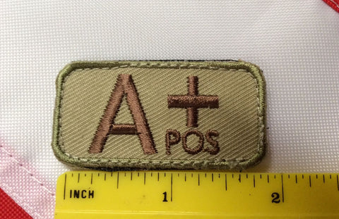 A+ pos patch novelty fun gift safety survival tactical gear Rothco military #611