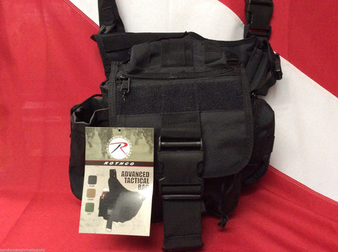 Advanced tactical bag emergency disaster survival bug out bag Black Rothco Gift