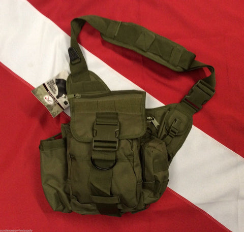 Advanced tactical bag emergency disaster survival bug out olive drab Rothco Gift