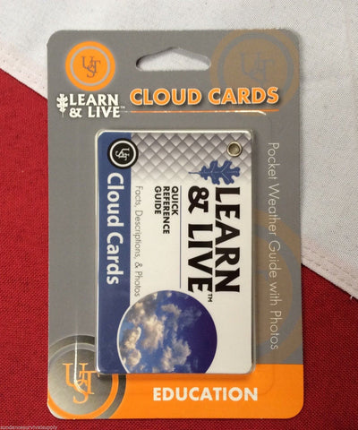 Cloud cards descriptions learn&live card emergency disaster tactical prepare UST