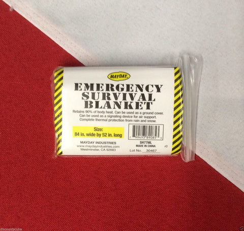 Emergency Mylar Blanket disaster tactical prepare MAYDAY earthquake tornado