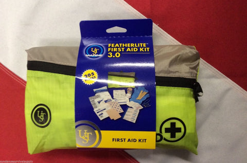 Featherlite Marine 3.0 first aid kit survival tool emergency disasterUST YELLOW