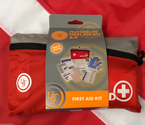 Featherlite First Aid 3.0 kit emergency disaster tactical preparedness UST 205pc